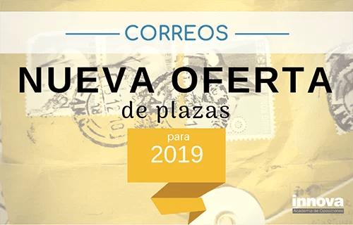 4.055 puestos de empleo en Correos para 2019