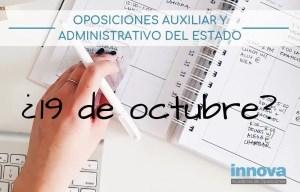examenes oposiciones 2019