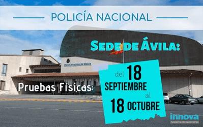 Policía Nacional: publicadas las listas de admitidos y las fechas de examen
