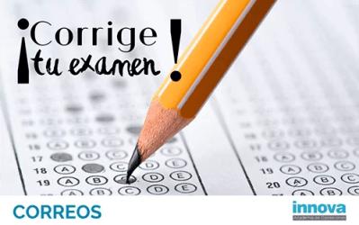 Cuestionarios y plantillas con las respuestas oficiales del examen de  Correos