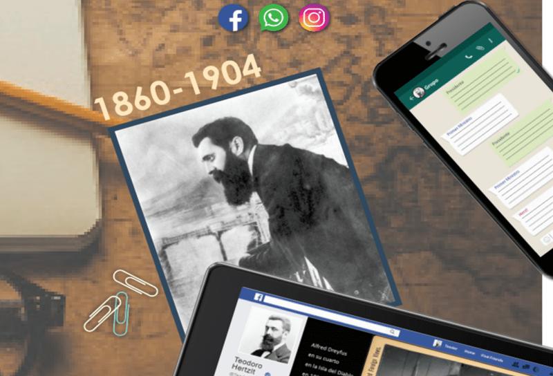 Herzl y las redes sociales