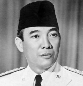 Líder de la independencia de Indonesia.