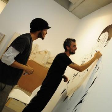 """Not a Line (a shadow line)"" Paolo Baraldi, 1 settembre - 15 ottobre 2014, SMAC Art Gallery, Cape Town"