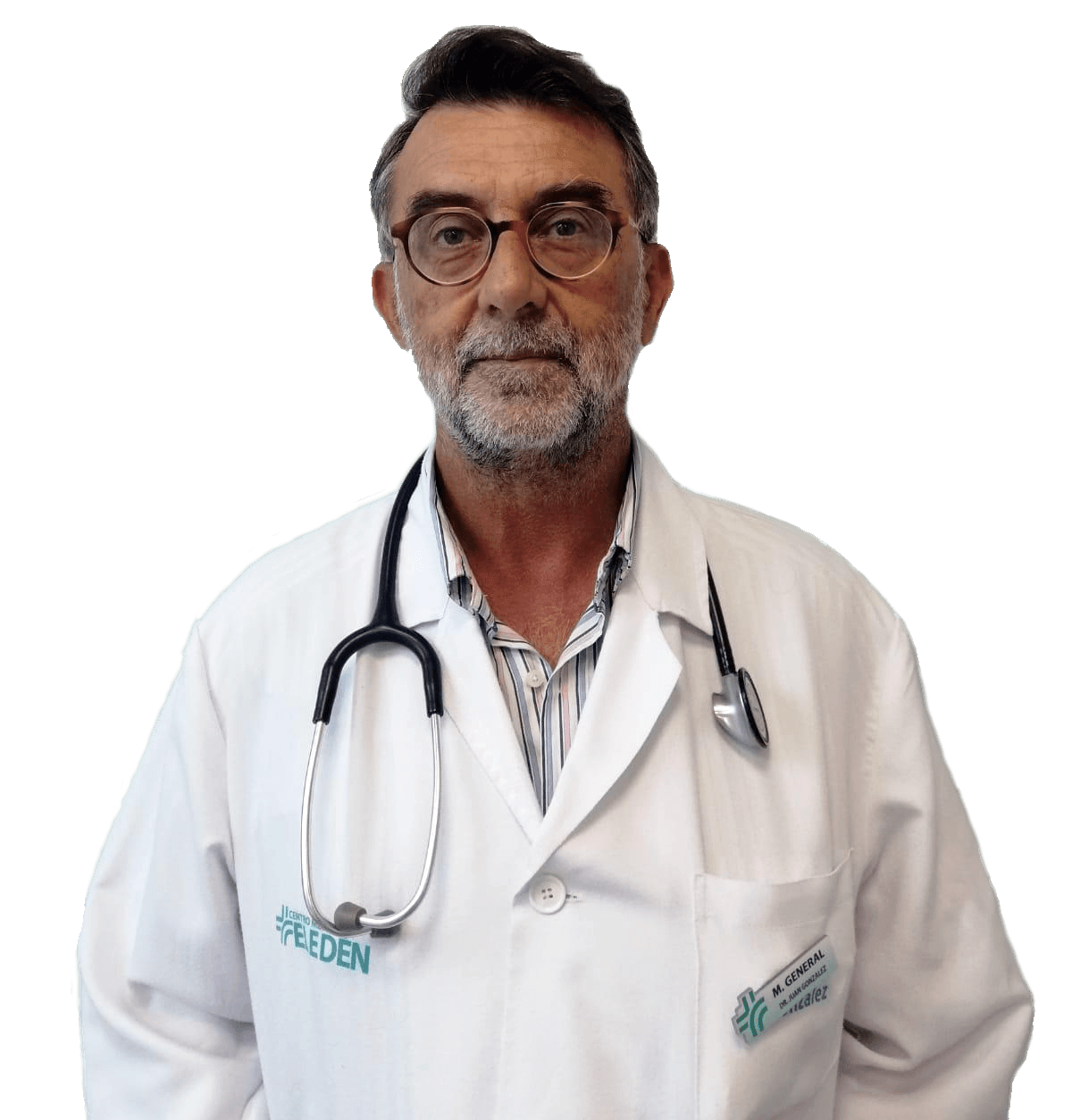 Dr Juan S. Gonzalez Benavente García - Director médico del centro y médico medicina general