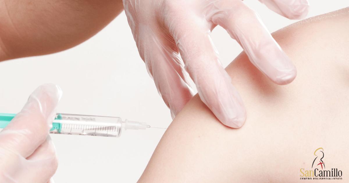 papilloma virus vaccino braccio)