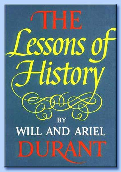 will durant - the lessons of history