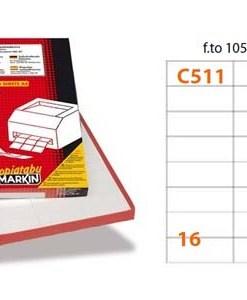 Etichette Markin C511