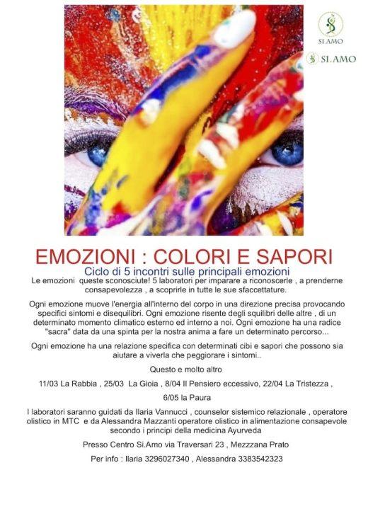 Emozioni: colori e sapori
