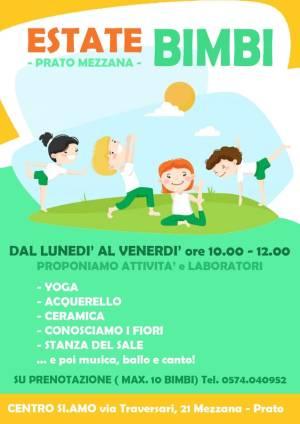 Estate bimbi - Centro SI.AMO Prato