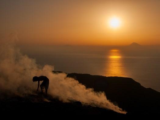 3° CLASSIFICATO – SERRA ROBERTO – CONCESIO (BS) Il calore del vulcano