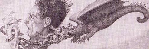 Il cancro, 1932, acquaforte su rame
