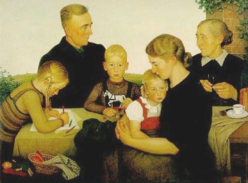 Adolf Wissel, Kalenberger Bauernfamilie