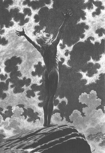 Dipinto di Hugo Höppner (Fidus)