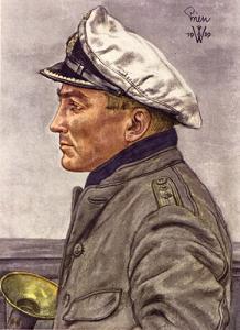 Il ritratto di Günther Prien eseguito dall'artista tedesco Wollfang Willrich