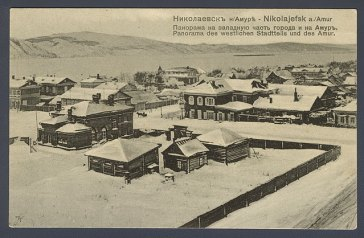 Nikolayevsk-on-Amur intorno al 1900.