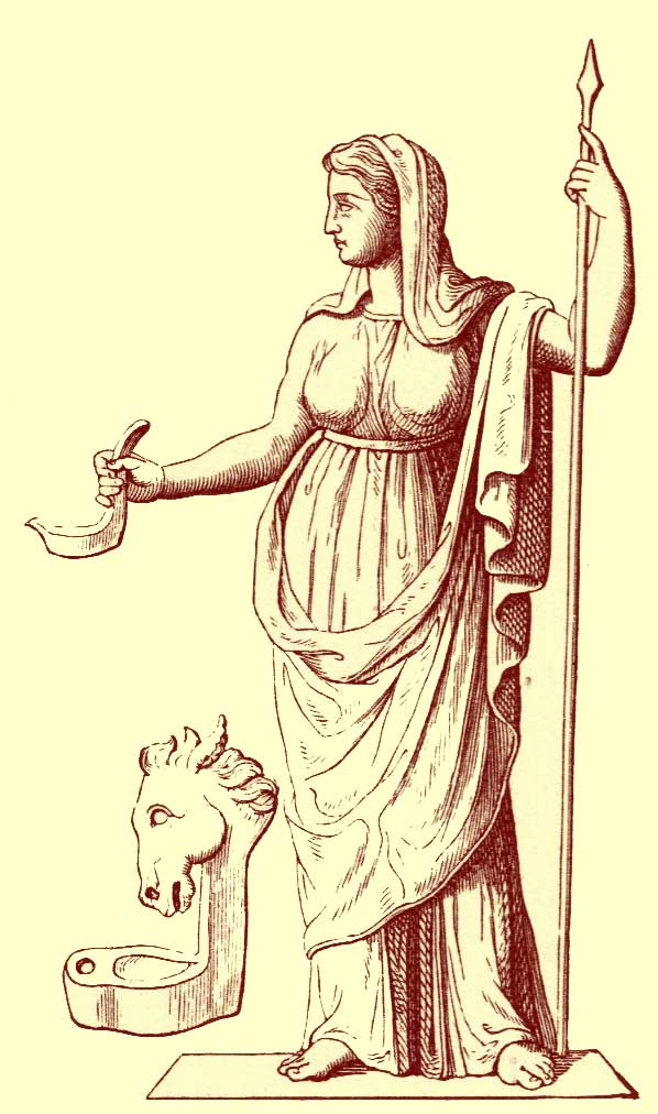 Vesta: l'ascetizzazione della Dea Madre