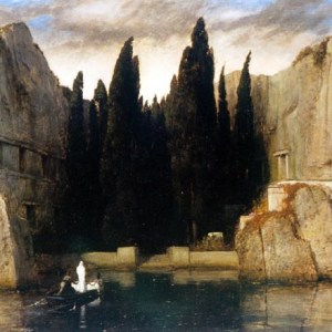Arnold Böcklin, L'isola dei morti. 1883.