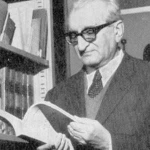 Giuliano Bonfante (Milano, 6.8.1904 - Roma, 9.9.2005). Tratto da Giacomo Devoto et al. (eds.), Scritti in onore di Giuliano Bonfante, Brescia 1976.