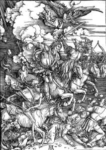 Albrecht Dürer, I quattro cavalieri dell'Apocalisse