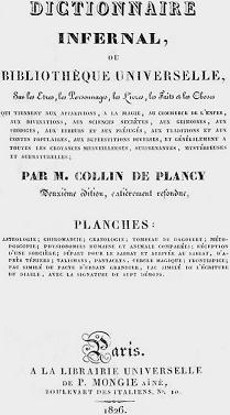 Le Dictionnaire infernal: una curiosa operetta del XIX secolo