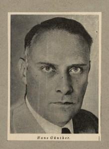 Hans Friedrich Karl Günther (16.2.1891 – 25.9.1968)