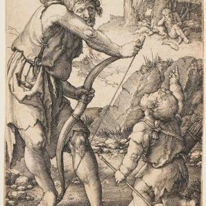 Lucas van Leyden, Lamech e Caino