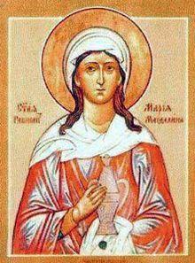 Icona di Maria Maddalena della Chiesa ortodossa