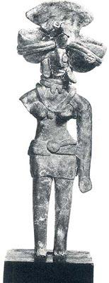 Dea-Madre in terracotta dalla Valle dell'Indo