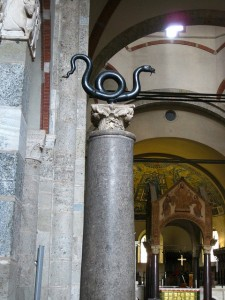 Serpente in Sant'Ambrogio