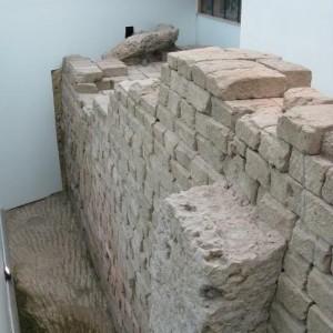 Fondamenta del Tempio Capitolino. Fotografia dell'Autore