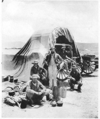 Boeri durante il Grande Trek