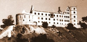 Il castello di Wewelsburg in una fotografia risalente al 31 marzo 1945