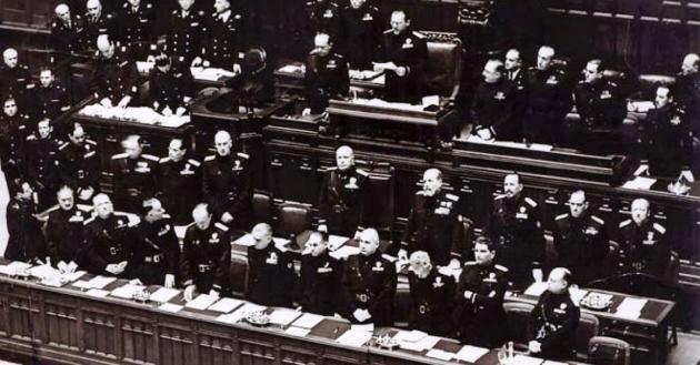 parlamento fascista legge acerbo