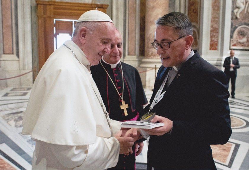 """Consegnato al Santo Padre il volume """"Rosario Livatino – Il giudice santo"""""""