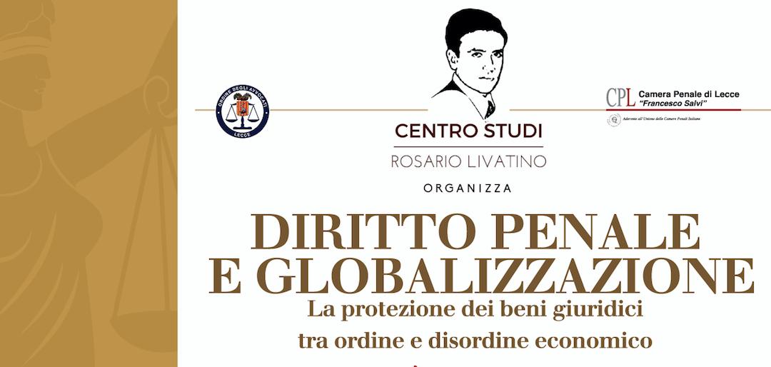 Diritto penale e globalizzazione – Lecce 18 aprile 2018
