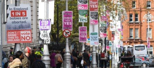 campagna elettorale sull'aborto in Irlanda