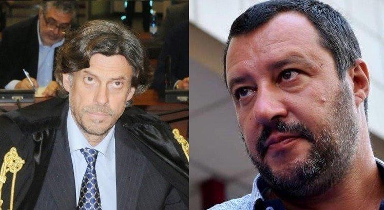 Matteo Salvini e Luigi Patronaggio