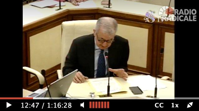 Triptorelina: le audizioni in Commissione Sanità di Alfredo Mantovano e Alberto Gambino (video)