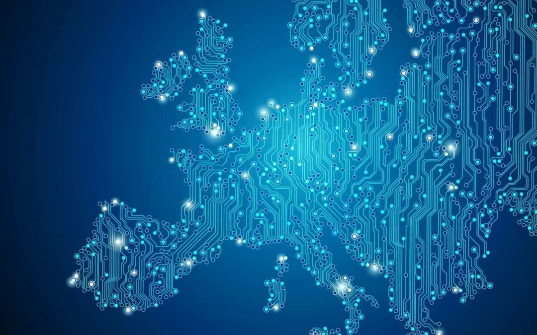 Europa percorsa da connessioni digitali