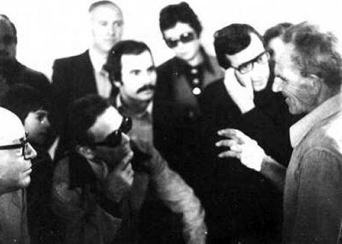Pasolini a Calimera (Lecce), nel pomeriggio del 21 ottobre 1975