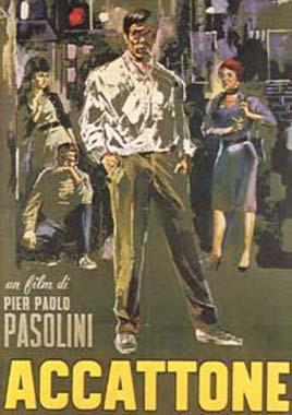 """Locandina del film """"Accattone"""""""