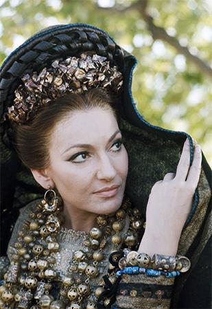 Maria Callas  (foto Mimmo Cattarinich)