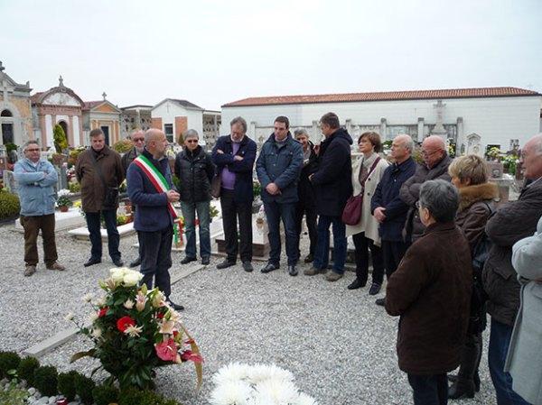 Cerimonia in ricordo di Pier Paolo Pasolini