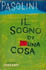 """""""Il sogno di una cosa"""" (1962). Copertina"""
