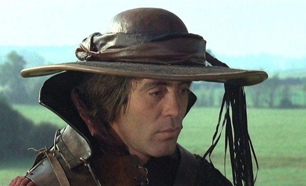 Franco Citti / il Diavolo, in un fotogramma dal film