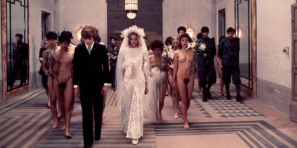 """""""Salo o le 120 giornata di Sodoma"""" (1975) di Pasolini. Una scena"""