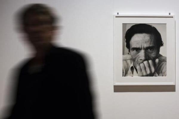 """La mostra """"Pasolini Roma"""": un'immagine"""