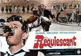 """""""Requiescant"""" di Carlo Lizzani (1966). Manifesto."""