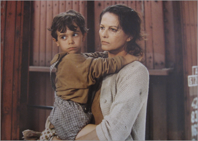 "Claudia Cardinale in ""La Storia"" di Elsa Morante"