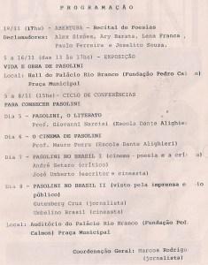 3 - Pasolini - Salvador, Brasile - 1990